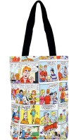 Panna Cotta Comic Strip Shoulder Bag (White-06)