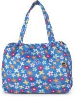 Craze On Bags Flower Printed Shoulder Bag - Blue