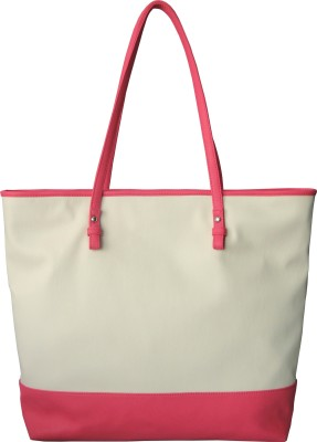 Toteteca Bag Works Color Band Large Shoulder Bag - Offwhite