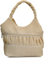 Frosty Fashion Stylish And Sleek Ff0100496 Hand-held Bag - Beige-496