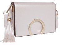 Fur Jaden Sling Bag Pearl White