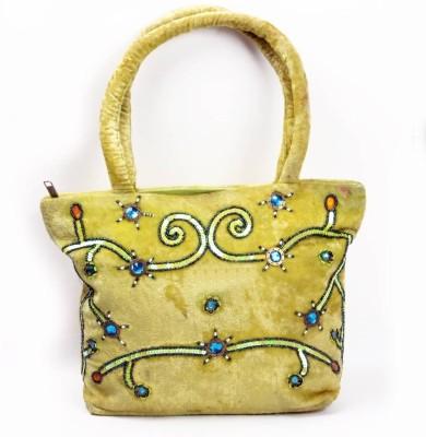 Khoobsurati Designer Shaneel Green Jhola Shoulder Bag Green