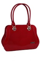 Womaniya Ethnic Hand-Held Bag Red