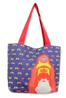 Mad(e) In India Sadhu Tote - Blue