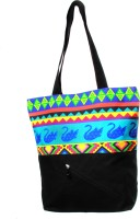 All Things Sundar Swan Design Shoulder Bag (Multicolor)