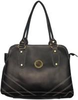 Black&Yellow Trendy Shoulder Bag - Black