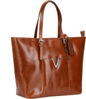 Valentino Valentino Genuine Leather Tan Color Medium Size Womens Hand Bag Tote Tan