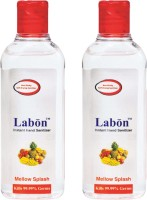 Labon Instant - Combo Pack Of 2 - 110 ML Mellow Splash (110 ML X 2 Packs) Hand Sanitizer (220 Ml)
