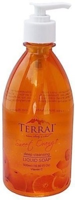 Terrai Natural Hand Washes and Sanitizers Terrai Natural Sweet Orange Liquid Soap