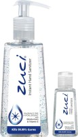 Zuci PACK OF 250 ML & 30 ML HAND SANITIZER- FRAGRANCE FREE Hand Sanitizer (280 Ml)