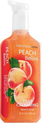 Bath & Body Works Hand Washes and Sanitizers Bath & Body Works Peach Bellini Deep Cleansing Hand Soap
