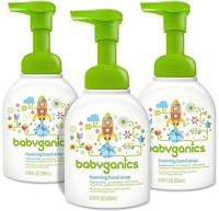 Babyganics Foaming Hand Soap, Fragrance Free Pump Bottle (pack Of 3) (253.5 Ml)