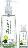 Zuci PACK OF 250 ML & 30 ML HAND SANITIZER- CUCUMBER MINT Hand Sanitizer (280 Ml)