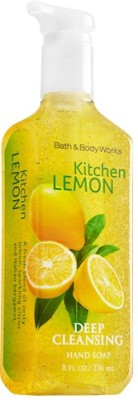 Bath & Body Works Hand Washes and Sanitizers Bath & Body Works Kitchen Lemon Deep Cleansing Hand Soap