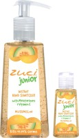 Zuci Pack Of 250 Ml & 30 Ml Hand Sanitizer- Musk Melon Hand Sanitizer (280 Ml)