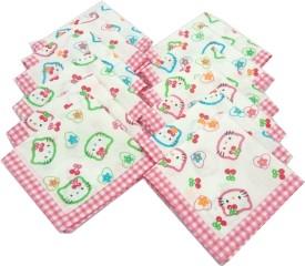 SaifeeSons Cartoon Characters Handkerchief