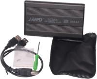 Speed High Speed 2.5 Inch HDD SATA 2.5 Inch Internal Hard Drive Enclosure (For Seagate, Western Digital, Internal HDD, Black)