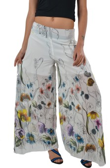 Striyah Couture Floral Print Faux Georgette Women's Harem Pants