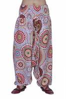 Jaipur Kala Kendra Printed Cotton Women's Harem Pants - HAREYZDVNBPZXA37
