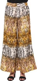 Trend18 Printed Polyester Women's Harem Pants