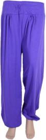 Yutak Solid Cotton Women's Harem Pants