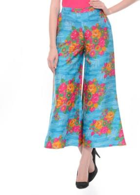 Lavennder Printed Polyester Womens Harem Pants