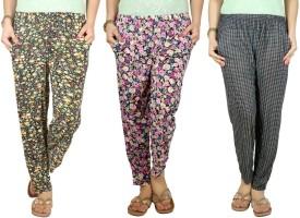 Q-Rious Floral Print Polyester Women's Harem Pants - HAREH9PZGRYKPMA6