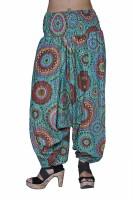 Jaipur Kala Kendra Printed Cotton Women's Harem Pants - HAREYZDV9EBMGNY6