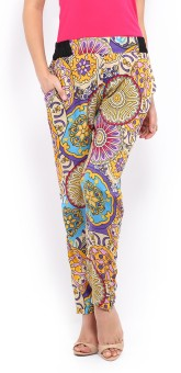 Mirage Printed Polyester Women's Harem Pants