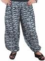 Indiatrendzs Geometric Print Poly Cotton Women's Harem Pants