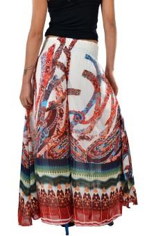 Striyah Couture Geometric Print Faux Georgette Women's Harem Pants