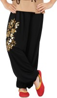 Ventra Embellished Lycra Girl's Harem Pants