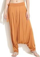 Color Cocktail Solid Blend Women's Harem Pants