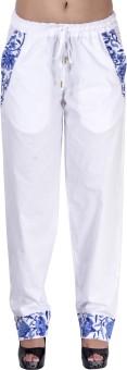 Indi Bargain Solid Cotton Women's Harem Pants - HARE6FWUHUKCVSK2