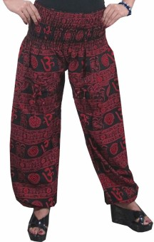 Indiatrendzs Geometric Print Poly Cotton Women's Harem Pants