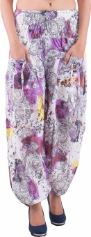 Indi Bargain Printed Cotton Women's Harem Pants - HARE5CXTNXYSBVF4