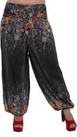 Indi Bargain Floral Print Rayon Women's Harem Pants - HAREYVXWK4GZAW8D