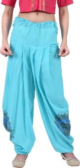 Juniper Floral Print Cotton Women's Harem Pants