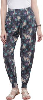 Sakhi Sang Floral Print Polyester Women's Harem Pants