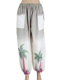 VR Designers Floral Print Polyester Women's Harem Pants