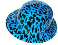Satyam Kraft Party Hat (Blue, Black, Pack Of 6)