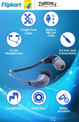 Zebronics ZEB EM-750 Wired Headphones