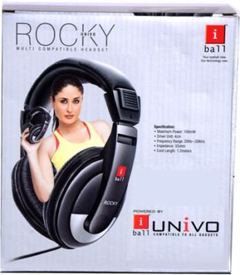 iBall Rocky Univo Wired Headphones