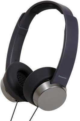 Panasonic RP HXD3E K 3 Icon Series Over the ear Headphones Black available at Flipkart for Rs.922