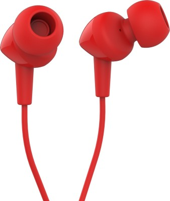 JBL C100Si Dynamic Headphones (Red, In the Ear)