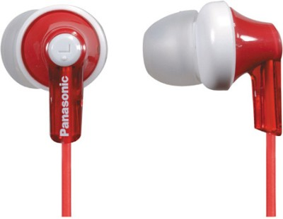 Panasonic RP-HJE118E-R In-the-ear Headphone