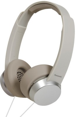 Panasonic RP HXD3E W 3 Icon Series Over the ear Headphones White, Over the Head available at Flipkart for Rs.1609