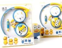 Despicable Me Minion Headphone With Microphone Headphones