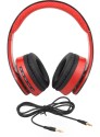 63a659ccf5c INext IN 917 HP Red Headphone Wired & Wireless Bluetooth Headphones (Red,  Over The