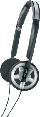 Sennheiser PX 80 (Black, On the Ear)